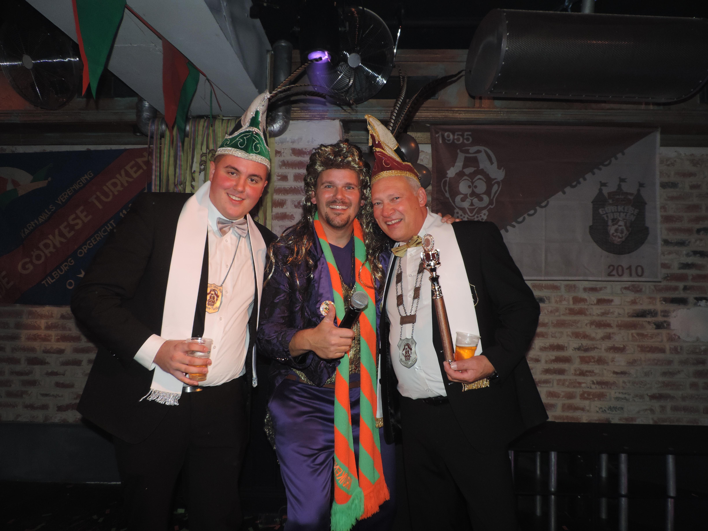 2018-2019: Prins Maarten d'n 1ste & Adjudant Nick